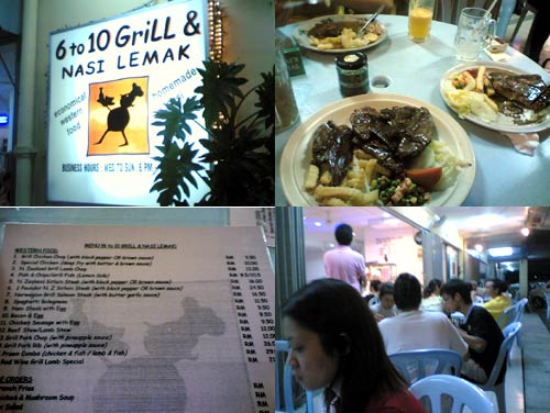 6 to 10 grill and nasi lemak at Seksyen 17, Petaling Jaya