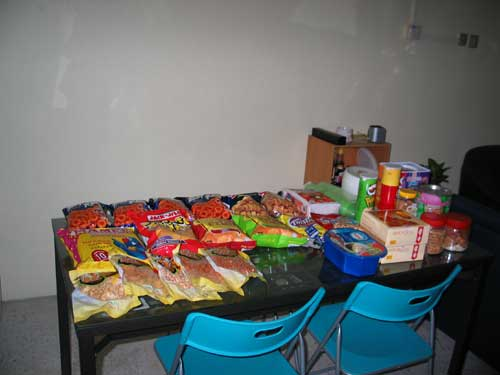 snacks for the party