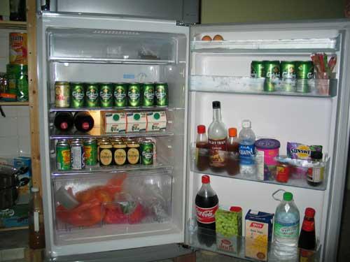 fridge full of beer