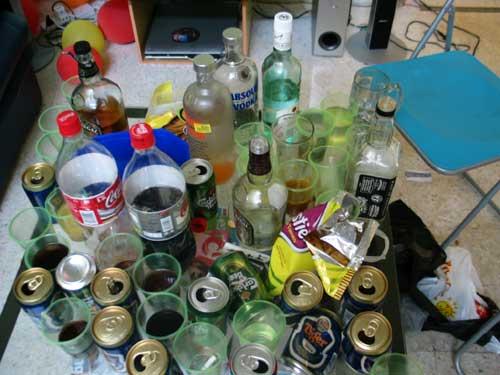 we finished the liquor