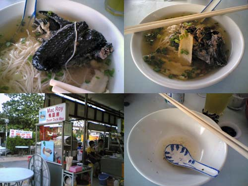 Black Chicken Herbal Soup Mee Suah