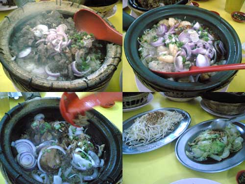 clay pot chicken rice at Busy Corner