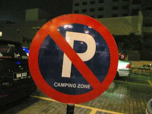 Camping Zone at Ikano