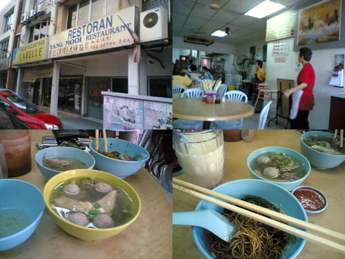 Beef Noodle at Pandan Indah, Cheras