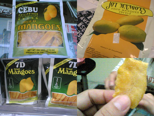 Dried Mango From Cebu, Phillipines