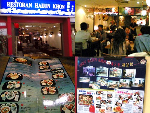Haeun Khon Korean Restaurant at Amcorp Mall