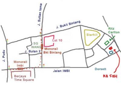 Ka Soh Restaurant (家嫂), Bukit Bintang