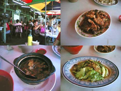 Klang Pork Rib rice