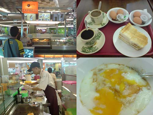 excellent roti bakar toast at KLCC food court
