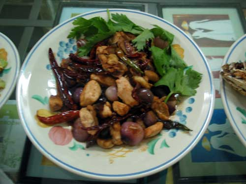 KY cooking kung pao chicken