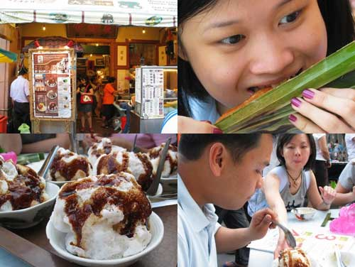 Chendol at Jonker Walk