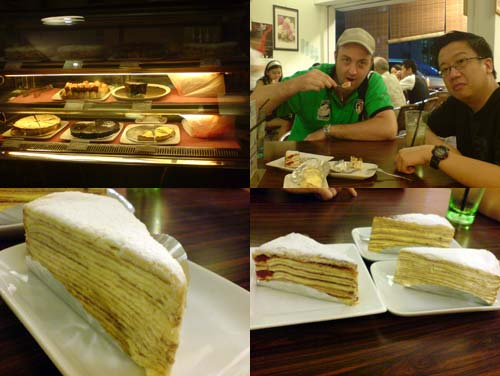 Mille Crepe at Food Foundry