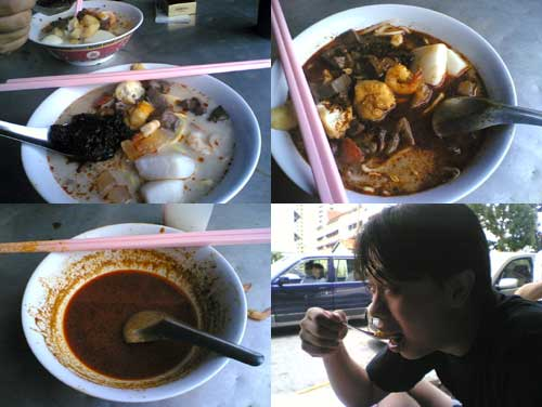 Curry Mee at Mount Eskin, Penang
