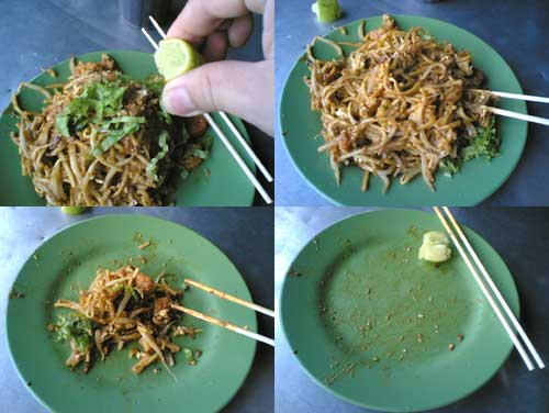Mee Goreng at Mount Eskin, Penang