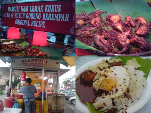 Nasi Lemak Kukus at Kelana Jaya