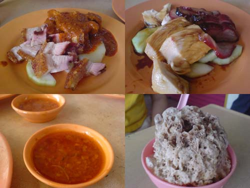 Chicken Rice at Petaling Jaya Old Town