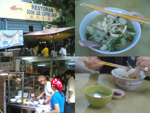 Kueh Teow Soup at PJ old town