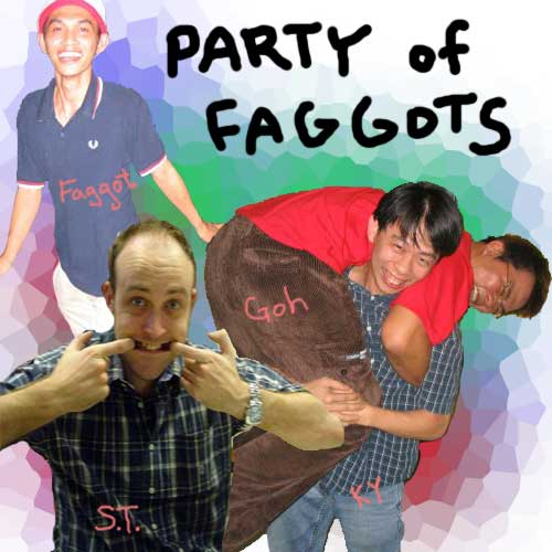 2005 faggots party at KY