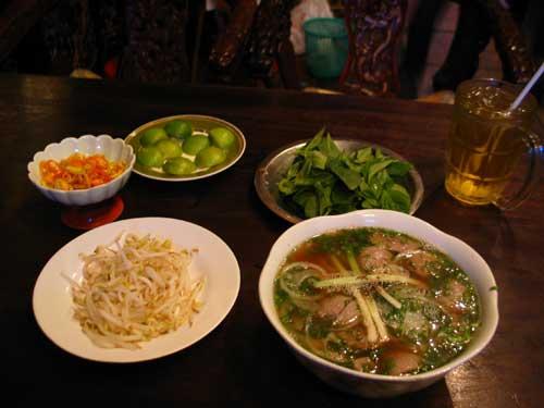 vietnamese pho in ho chi minh city