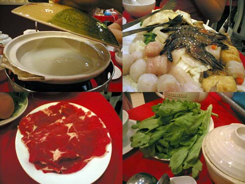 Porridge Steamboat (粥底火锅)  at Jalan Pudu, Restaurant Farmland