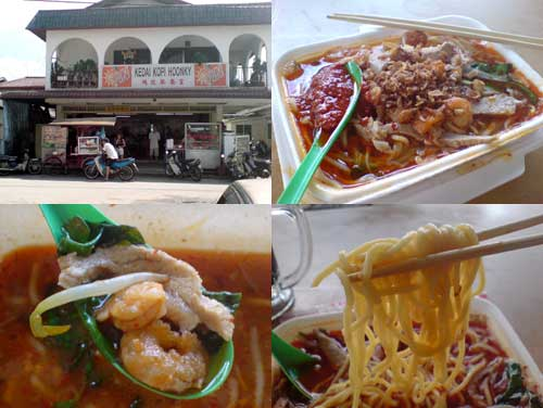 Prawn mee at Kampung Chempaka
