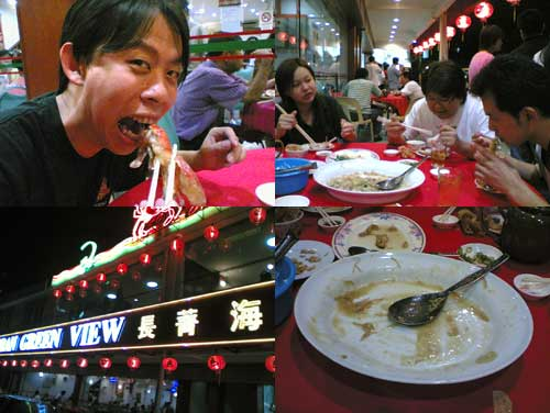 Fresh Prawn Noodle at Restaurant Green View