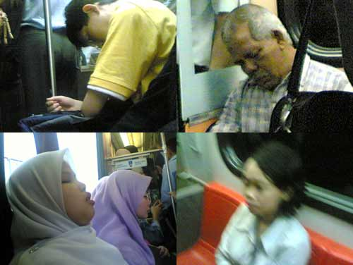 Sleeping in LRT