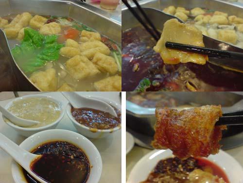 Szechuan steambaot - restaurant Hong La Qiao 红辣椒