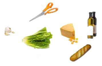 items to make salad