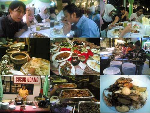 buka puasa at Saloma Bistro, Ampang