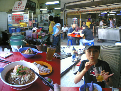 Laksa Sarawak at Bangsar
