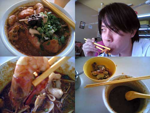 Segambut Seafood noodle at PJ ss2