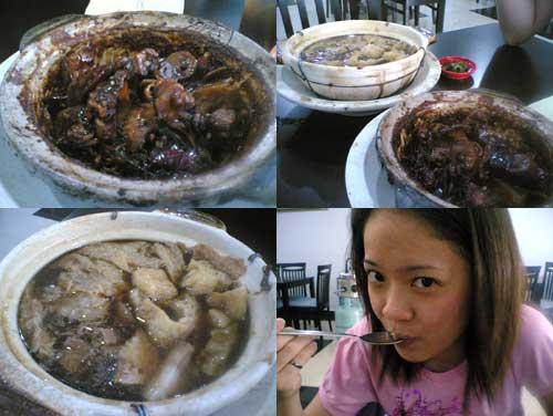Klang dried Bak Kut Teh at Aman Suria, Shun Heng