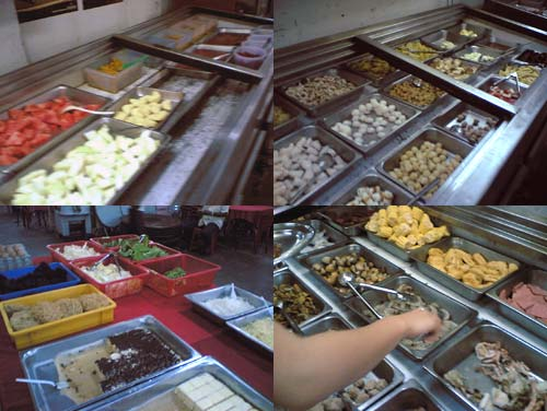 Talipon Steamboat and Grill buffet at Kelana Jaya