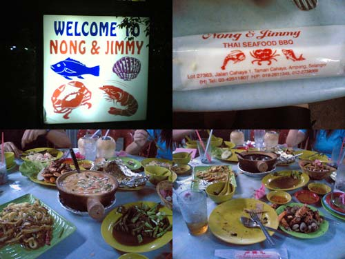 Nong and Jimmy Thai BBQ Seafood Tomyam