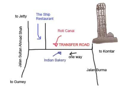 penang transfer road roti canai