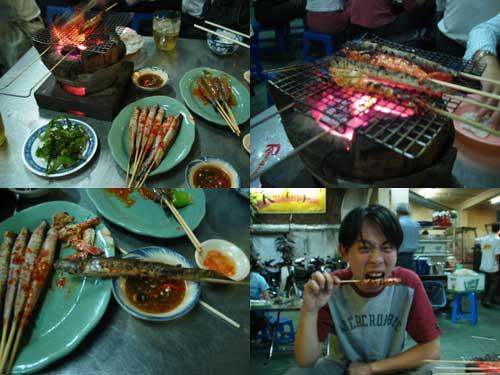 Vietnamese BBQ in Ho Chi Minh City