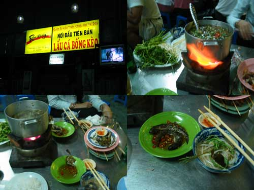 Vietnamese Steamboat at Ho Chi Minh City