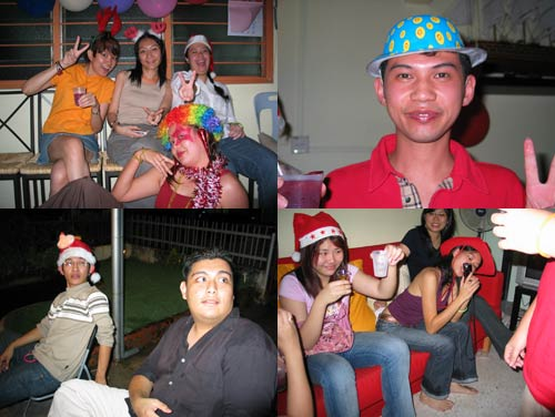 X'mas Party 2005 at KY