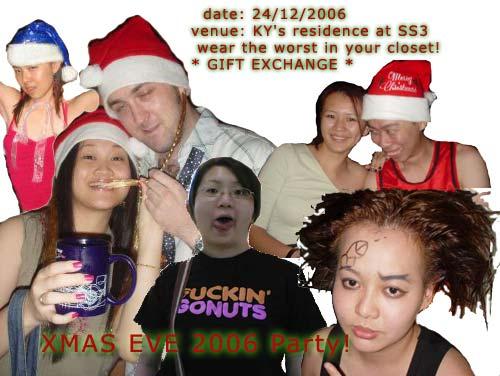 Xmas Eve Party 2006