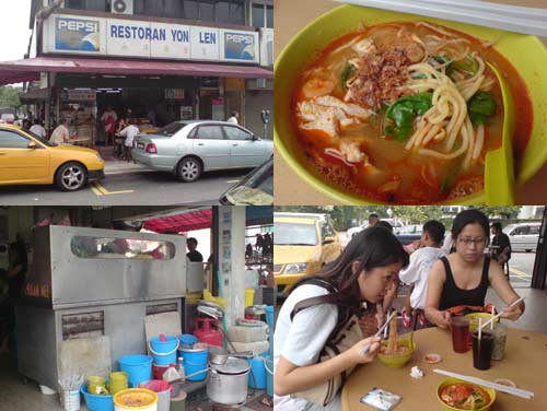 Prawn Mee () at Restaurant Yon Lee, TTDI