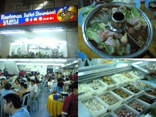 Yuen Buffet Steamboat at Sunway Mentari