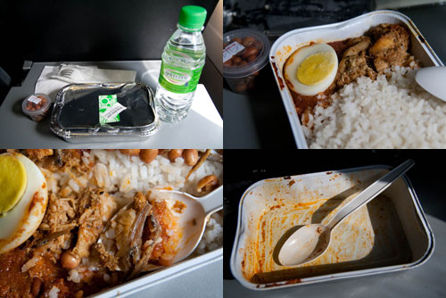 nasi lemak on air asia flights