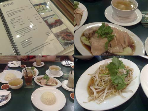 Bernard's Bistro Chicken Rice at BU Centrepoint