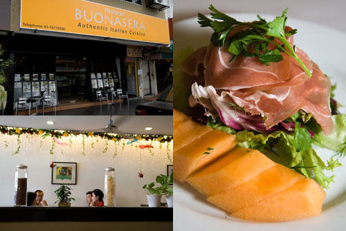 Buonasera Italian Restaurant at PJ ss2