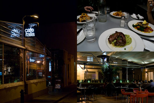 Cafe Italia at University St, off Lygon, Melbourne