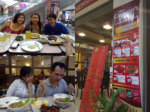 rachel, suanie, KY, kerol, and horng at Cagayang Philippine Cuisine