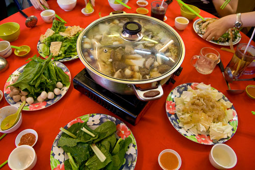 steamboat at cameron highlands