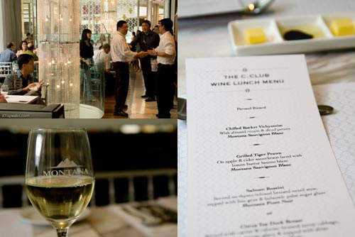 Wine Lunch at Carat Club, Pavilion KL