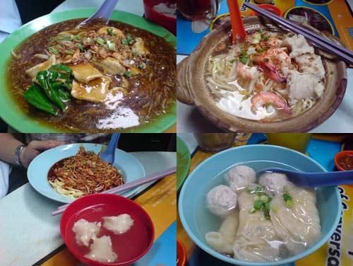 Fish Noodle, Charn Kee Tasty Corner, Jalan Alor, KL